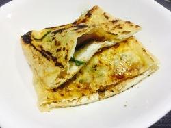 チーズの包み焼き